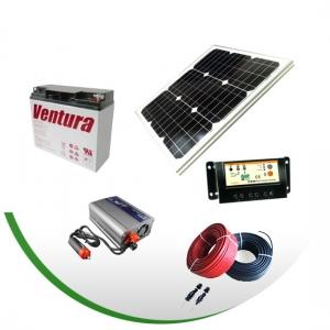 Сонячна електростанція потужністю 0,25 кВт